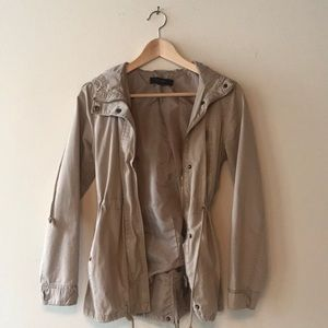 Tan Jacket by Forever 21
